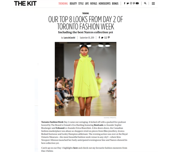 The Kit: Our Top 8 Looks From Day 2 of Toronto Fashion Week