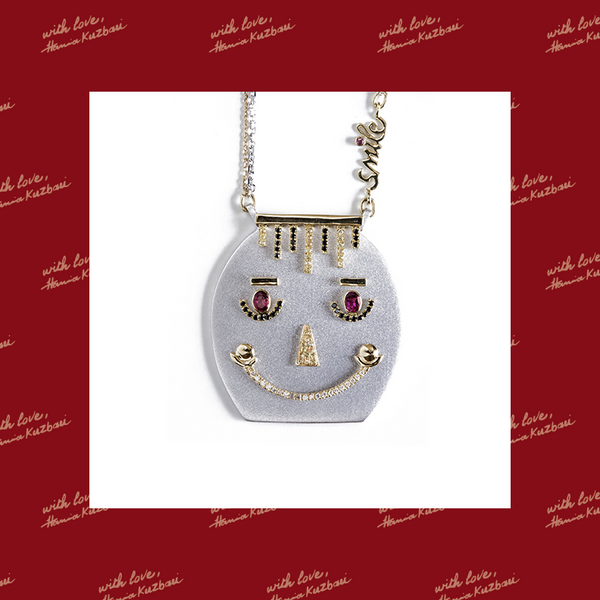 Georgette Smile Necklace