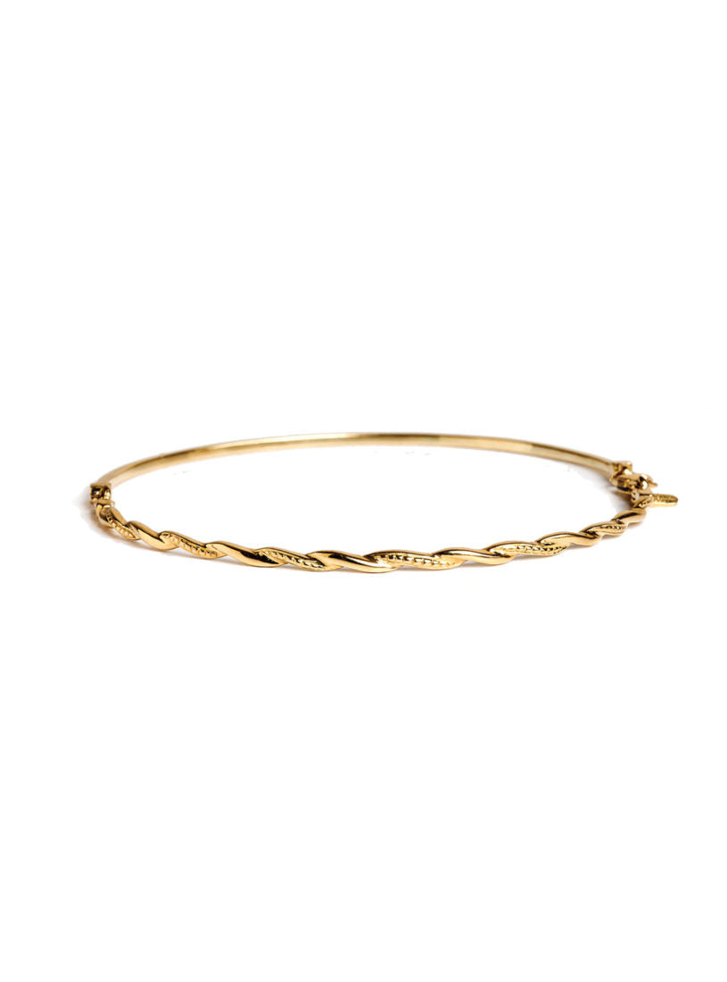 Levant Narrow Braided Bracelet