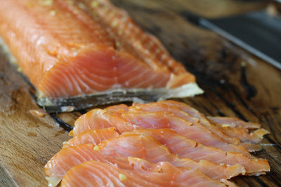 Bourbon Cold Smoked Salmon