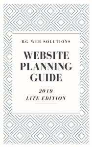 2019 Website Planning Guide, Lite Edition