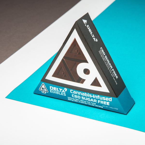DELTA 9 | SUGAR FREE CBD CHOCOLATE (100MG)