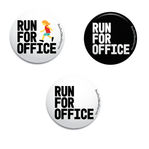 Run for Office 3-Button Pack
