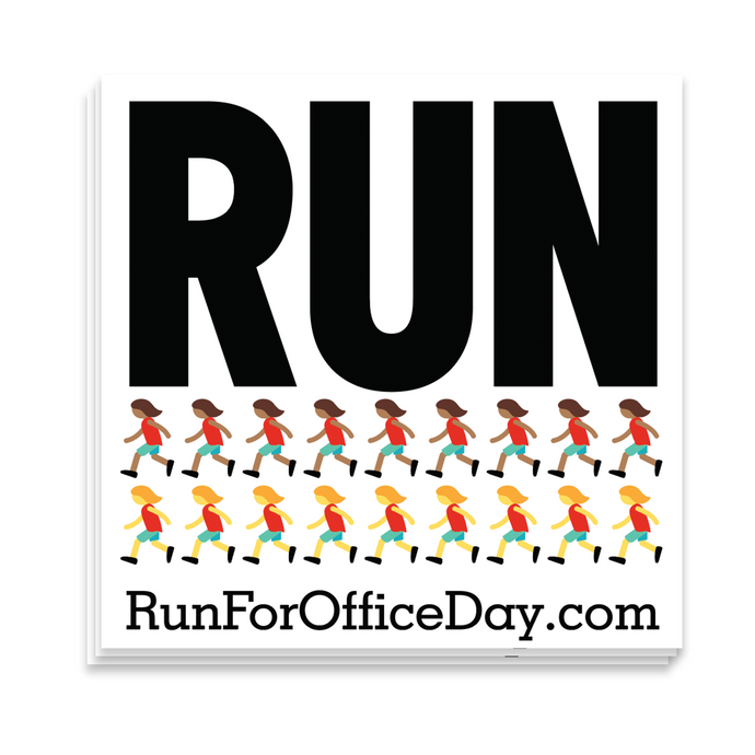 Run for Office Day 10-Sticker Pack