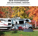 ECOFLOW 110W Portable Solar Panel for DELTA. For Jackery Explorer & SUAOKI - RV