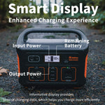 Jackery Portable Power Station Explorer 500, 518Wh Outdoor Solar