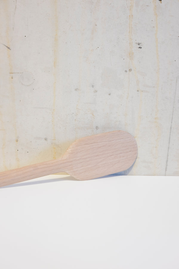 Light oak pancake turner spatula - 29cm