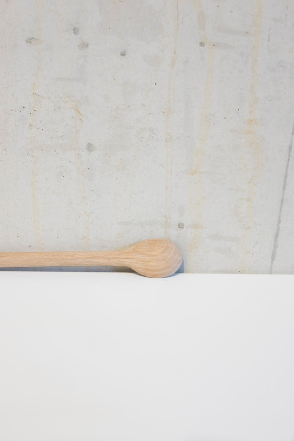 Light oak syrup spoon - 23cm