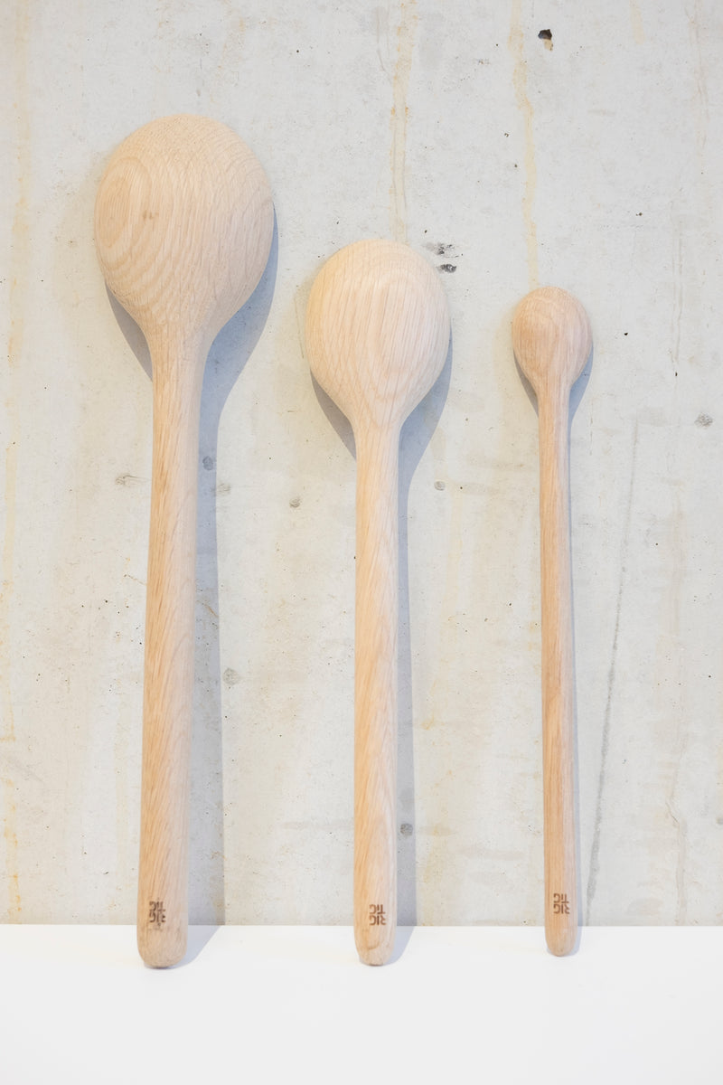 Light Oak porridge spoon - 25cm