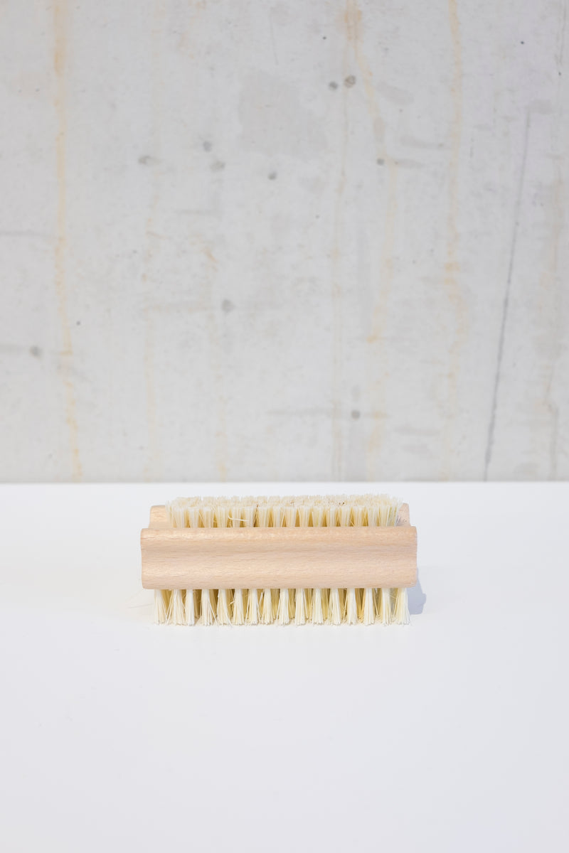 Untreated beechwood nail brush