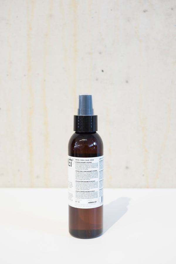 Body oil 120ml - Bergamot & Patchouli