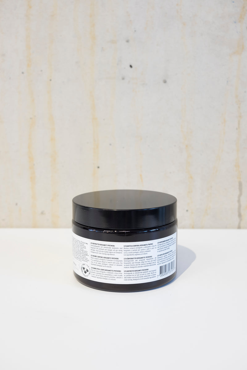 Body butter 350g - Bergamot & Patchouli