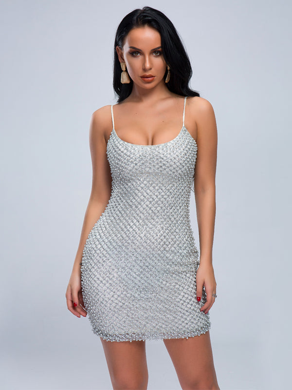Glori Dress-Chic By Night -Silver-L-Chic By Night