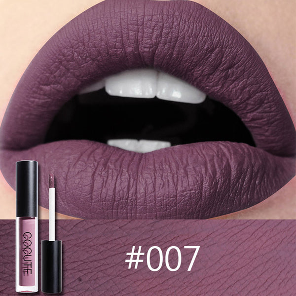 Hot Matte Long  Lasting Waterproof Easy to Wear Liquid Lipstick
