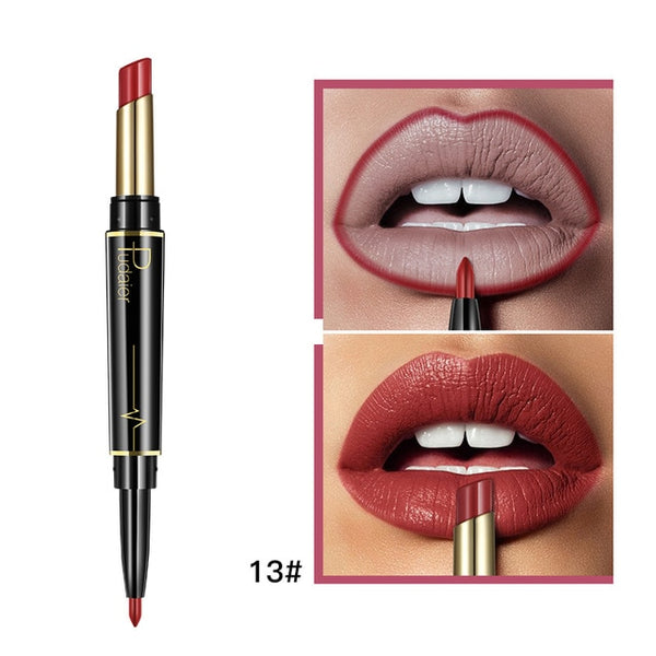 Matte Waterproof Double Ended Long Lasting Lipsticks-Chic By Night -Chic By Night