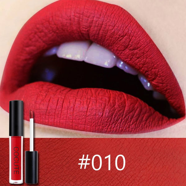 Hot Matte Long Lasting Waterproof Easy to Wear Liquid Lipstick-Chic By Night -Chic By Night