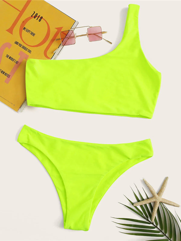 Maram Bikini Set-Chic By Night -Green-S-Chic By Night