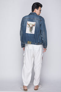 PURANA X AGAN HARAHAP - Male Denim Jacket