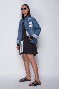 PURANA X AGAN HARAHAP - Female Denim Jacket