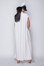 PURANA X AGAN HARAHAP - Wrap Dress White [Pre-Order]