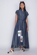 PURANA X AGAN HARAHAP - Wrap Dress Denim [Pre-Order]