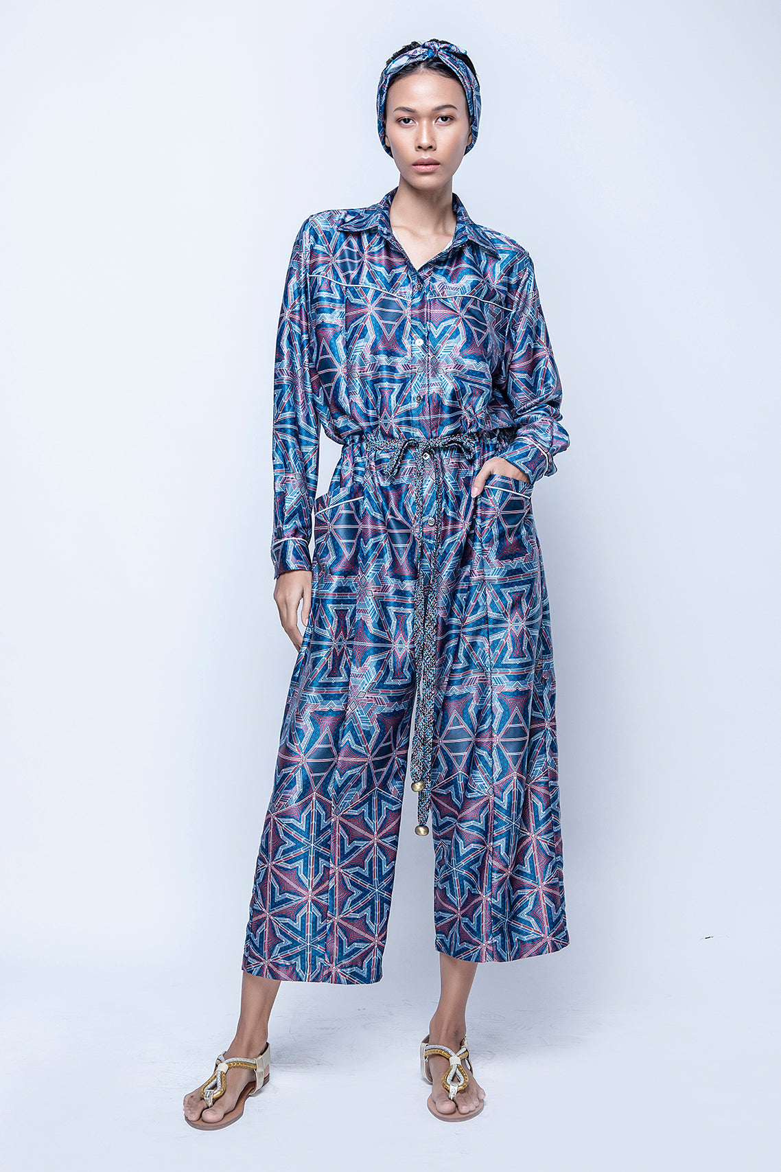 KARLA Jumpsuit Blue