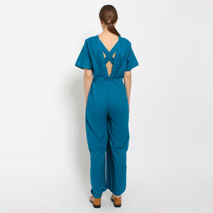 BASIC V-Neck Jumpsuit (Multiple Colors Available)