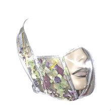 Load image into Gallery viewer, FLOWER POWER CLEAR MASK