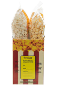Campbell's Famous Popcorn Taste of Cheddar Beer with Dichotomy, White Cheddar, Kettle, Beer with 4 Flavor Box. Popped fresh and delivered fast in gift tins, bags, and boxes. Visit www.campbellsfamouspopcorn.com. Side of box detail