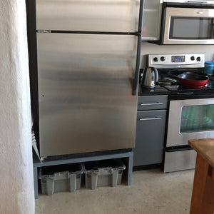 Baltic Birch Plywood Project -- Raising your Refrigerator
