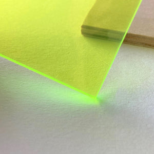 Fluorescent Green Acrylic