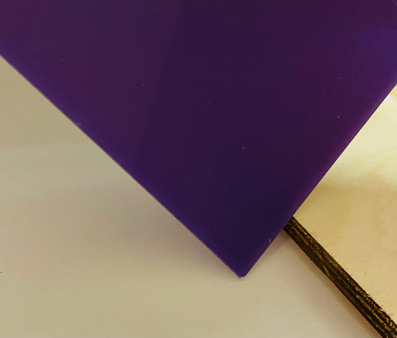 Acrylic (Purple) - Nearly Opaque