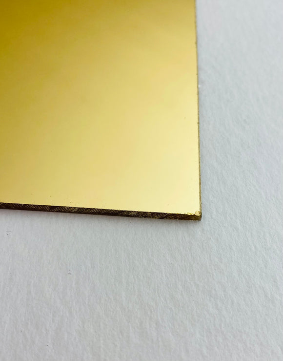 Acrylic Gold - (Mirrored Acrylic)