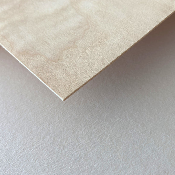 Birch Plywood - Specialty Sustainable Thin Stock (1/32