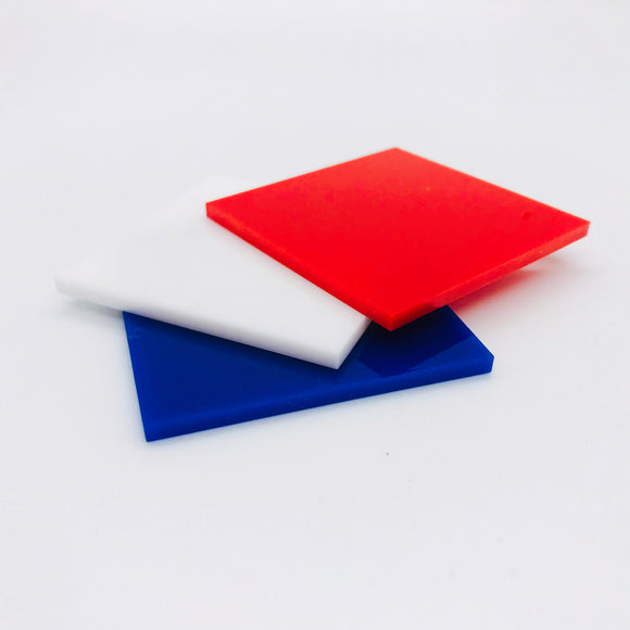 Red, White, and Blue Acrylic Bundle