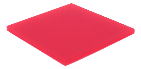 Red Opaque Acrylic