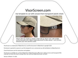 VisorScreen Face Shield (2-pack) - CAP NOT INCLUDED