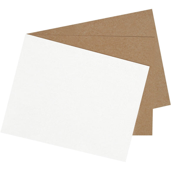 White Chipboard (White One Side) - Single Ply 18