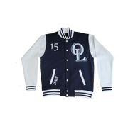 Keep It 100 (varsity jacket)