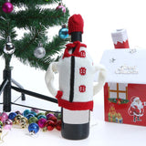 Christmas Wine Bottle Cover Knitting Sweater new year navidad Dinner Table Decorations Christmas decorations for home party
