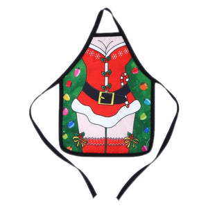4pcs Small Apron Bottle Wine Cover Table Dinner Wine Bottle Cover christmas apron Xmas navidad Christmas Decorations for home - Wines Club