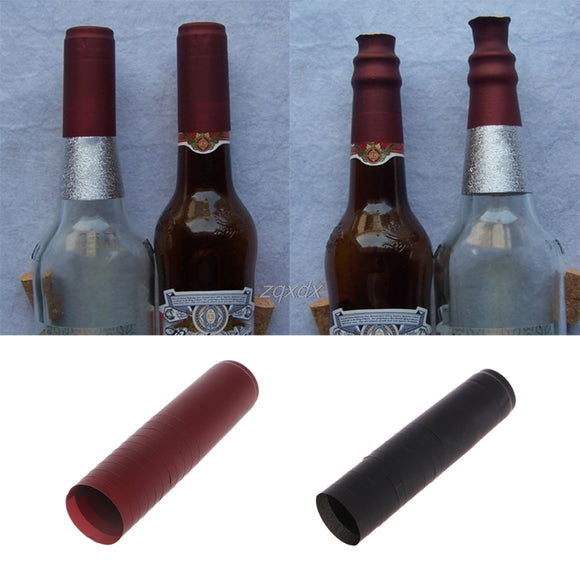 10 Pcs PVC Heat Shrink Cap Brewed Wine Sealed Cover Red Wine Bottle Seal Cover July Dropship - Wines Club
