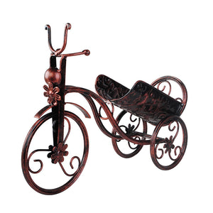 Wine Bottle Holders or Wall Mounted Wine Racks Dispenser Wine Bar Optical Metal bicycles - Wines Club