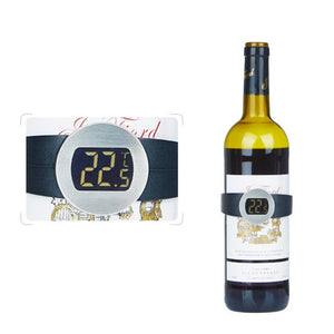 brewing wine temperature Stainless Steel Wine Bracelet thermometer for wine sensor for beer home brewing termometro vino - Wines Club