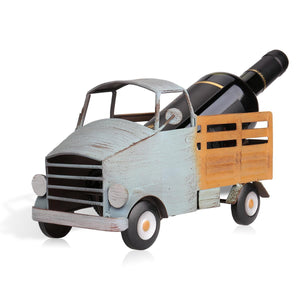 TOOARTS Pickup truck wine rack Wine shelf Metal sculpture Practical sculpture Home decoration Interior decoration Crafts - Wines Club
