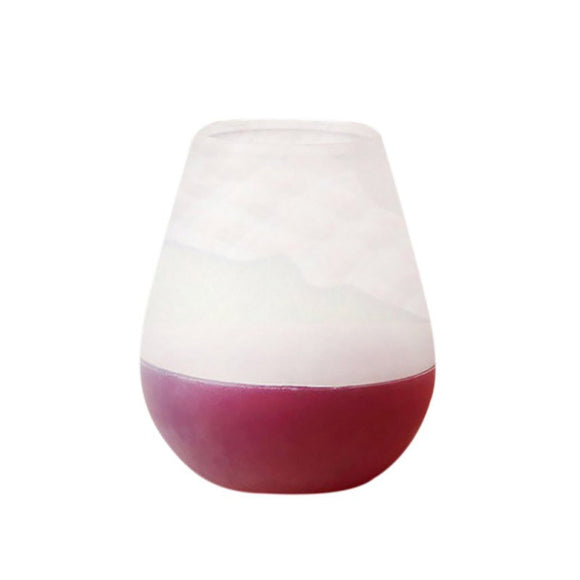 Quality Silicone Wine Glass Stemless Wine Glass Cocktail Glass For Camping Picnic Unbreakable Wine Beer Glass Bar Accessories