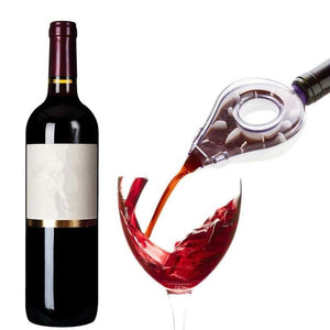 Wine Decanter Magic Decanter Essential Wine Quick Aerator Pour Spout Decanter Mini Travel Wine Filter Air Intake Pour - Wines Club
