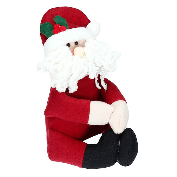1Pcs Santa Claus Snowman New Year Christmas Decoration Supplies Gift Christmas Wine Bottle Cover Ornament - Wines Club