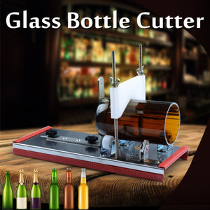 2-10mm Beer Wine Jar DIY Recycle Cutting Tool Kit Accurate Cutting Machine Glass Bottle Cutter Stainless Steel Smoothly Cutting - Wines Club