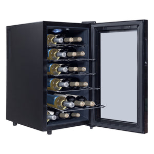 18 Bottle Freestanding Thermoelectric Wine Cooler - Wines Club